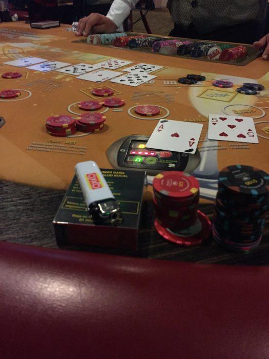 ドバイパレスカジノのポーカー