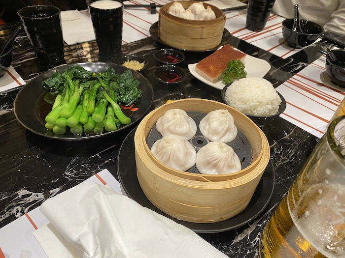 グランドリスボアの中華料理